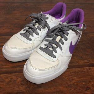Nike Sweet Ace 83 Shoes Womens 9.5 White Purple